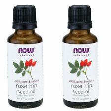 2x Maintenant 100% Pure Naturel Rose Hip Grain Huile Essentielle 29.6ml 30 ML
