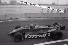 9x6 Photograph,  Michele Alboreto  Tyrrell 011 , United States GP Detroit 1982
