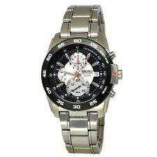 Seiko Criteria SPC025 P1 Black Dial Men's Retrograde Chronograph Quartz Watch
