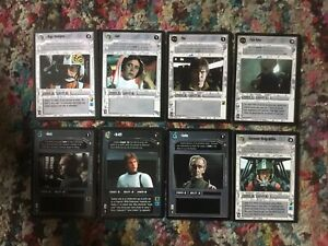 Star Wars CCG Personnel Mix Rare X 8 Specials And Premier Edition