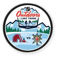 NHL LAKE TAHOE PIN COLORADO AVALANCHE V. LAS VEGAS KNIGHTS DUELING OUTDOOR GAME