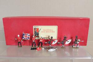 Dorset Soldats Zulu War Britannique 24th Pied Régiment & Attaquant Emballé NZ