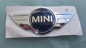 MINI NEW GENUINE COOPER MINI HOOD BADGE EMBLEM 2754973