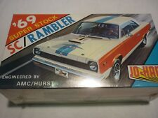A Vintage JO-HAN factory sealed plastic kit of a 1969 American motor co, Rambler