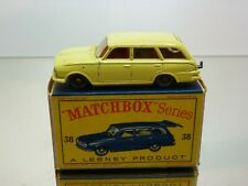 LESNEY MATCHBOX 38 VAUXHALL VICTOR ESTATE CAR - VERY GOOD CONDITION IN BOX