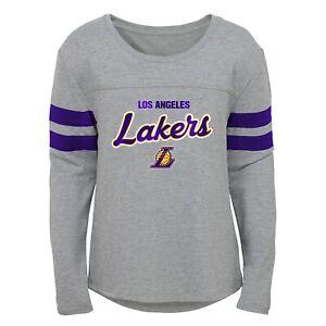 Outerstuff Los Angeles Lakers NBA Girls Kids (4-6X) & Youth (7-16) Dolman Tee