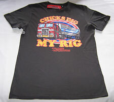 Transformers Dig My Rig Mens Charcoal Printed T Shirt Size XXXS New