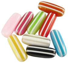 50 x Lovely Retro Resin Mix Colour Beads 13mm ~ lady-muck1