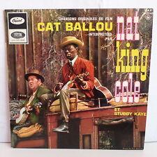 NAT KING COLE Bo Film OST Cat Ballou + STUBBY KAYE EAP 4-2340