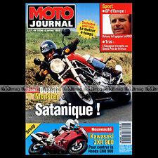 MOTO JOURNAL N°1094 KAWASAKI GPZ 900 NINJA DUCATI 900 MONSTER HONDA RC 45 1993