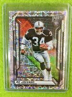 BO JACKSON PRIZM CARD JERSEY #34 RAIDERS SP /99 REFRACTOR  2019 National VIP SSP