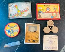Pocket Skill Games ~ Lot of Six ~ 1930s & 1940s