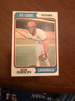 1974 Topps Bob Gibson #350 Baseball Card