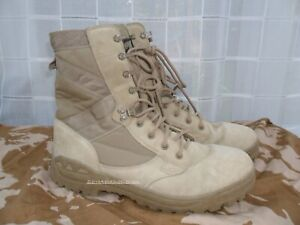 BRITISH ARMY SURPLUS ISSUE AMAZON 5 DESERT COMBAT BOOT TAN SUEDE LEATHER MAGNUM