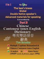 Chinese Cantonese Tones English Dictionary (Paperback or Softback)