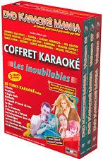 """Coffret 3 DVD Karaoké Mania """"Les Inoubliables"""""""
