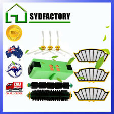 Battery 4.4Ah Li-ion + Filters + Brushes for iRobot Roomba 500 571 575 577 580