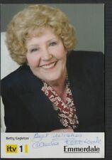 Emmerdale Uncertified Original Collectable TV Autographs