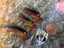 3 V Fly 1/2 Inch RV Super Arctic Cascade Conehead Salmon Tube Flies & Trebles