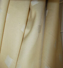 30m Of  Quality  Courtelle Gold Folk Weave Fabric
