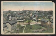 Postcard NORTH EAST PA Local Town Area Houses/Homes Bird's Eye Aerial view 1910s