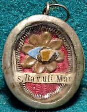 Old RELIQUARY WITH RELIC ST RAVULI MARTYR w/ SEAL