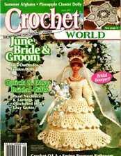FASHION DOLL BRIDE & GROOM Crochet PATTERNS Wedding BOUQUET Doily DRESS Bath