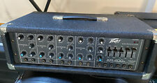 More details for peavey xr-400 mixing amp - fantastic condition! for pa, keyboard, guitar, bass!