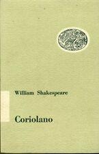 SHAKESPEARE William. Coriolano. Einaudi, 1953