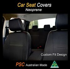 Seat Covers Fit Nissan GQ Patrol Front(FB+MP) & Rear Waterproof Premium Neoprene