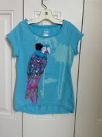 Cherokee Girls t-shirt, Light Blue, Size M