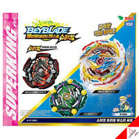 Takara Tomy Beyblade Burst B-171 SuperKing Triple Booster SET - 100% Authentic