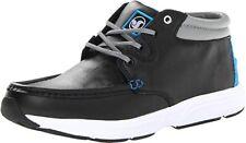 DVS Shoes HUNT HL Mens Skate Shoe Boots Black Leather 9 US NEW