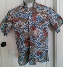 Reyn Spooner Aloha Hawaii Hawaiian Islands Shirt Large