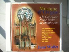Cd Musique d'Orgue de Montbrison - Jean WALLET