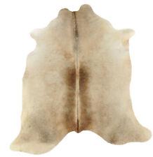 peau de vache taureau beige gris 200 x 160 cm peau de bœuf Tapis peau de vache