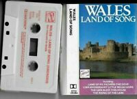 CASSETTE WALES land of song - rhos male voice choir ivor emmanuel welsh guards