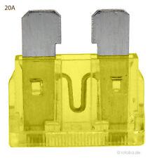 10 Stück 20A Auto-Sicherungen Midi ATO KFZ Sicherungen Flachsicherungen