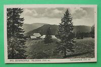 AK Feldberg 1920er Schwarzwald Todtnauer Hütte Bauernhof Gebäude Bäume  W7