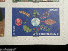 FRANCE 2011 AUTOADHESIF 537, TIMBRE FETE TERRE, ARBRES FLEURS, neuf**, MNH