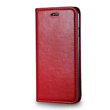 Universale Tasche mit Kartenfach für Handys in Rot