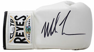 Mike Tyson Signed Right Hand White Cleto Reyes Boxing Glove JSA ITP