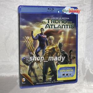 Justice League: Throne of Atlantis - Blu-ray Región A, Español Latino