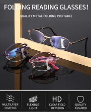 Automatic Zoom Anti-blue Llight Progressive Bifocal Folding Reading Glasses