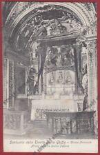 VERBANIA GHIFFA 53 SANTUARIO SS. TRINITÀ - CHIESA - ALTARE Cartolina primi '900