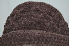 Brown Women's Crochet Hat