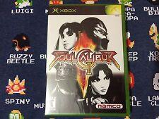 Soul Calibur 2 NON-PLATINUM HITS BRAND NEW SEALED  (Microsoft Xbox, 2003)