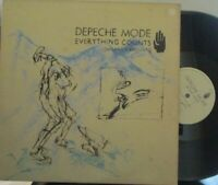 "DEPECHE MODE ~ Everything Counts ~ 12"" Single PS"