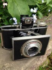 KODAK Flash Bantam Folding Vintage Camera F4.5 48mm Lens With Case