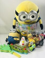 Easter Basket Lot! Despicable Me Toys Build A Bear Plush Collector Gifts Kit Set